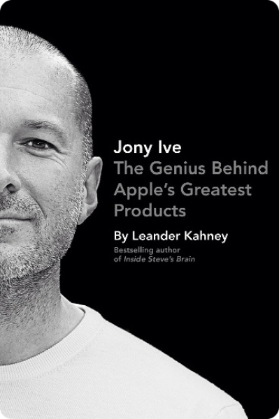 Book cover of Jony Ive by Leander Kahney